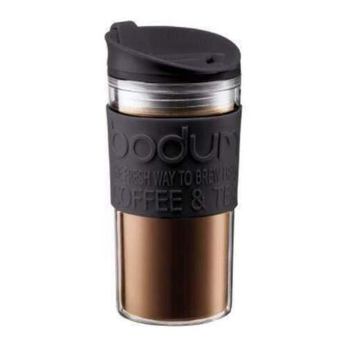 Black Bodum Travel Mug Acrylic 12oz