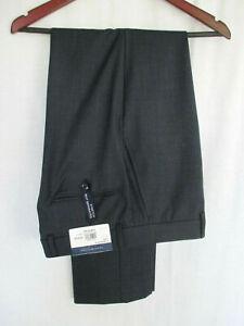 Tommy-Hilfiger-Pants-34x32-Blue-Gray-NEW-Nailhead-Pattern-Wool-amp-Polyester-Blend
