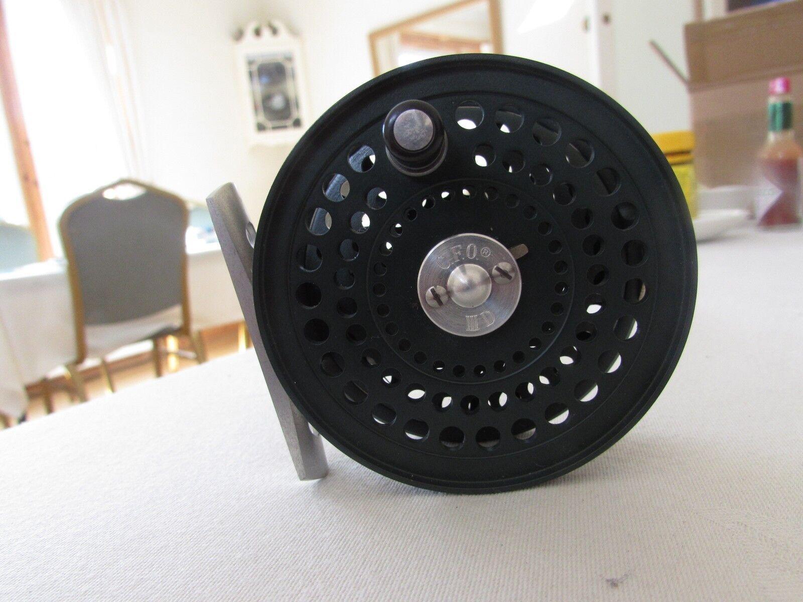 RARO inutilizzati Hardy costruito ORVIS CFO 3 direttore Finanziario 3D DISCO Trossoa Fly Fishing REEL
