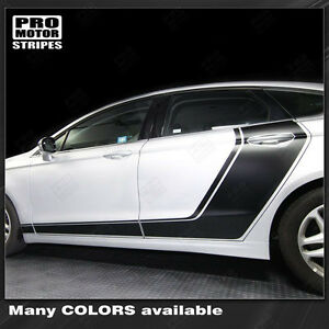 Ford Fusion Door Accent Side Stripes Decals 2013 2014 2015 2016 Ebay