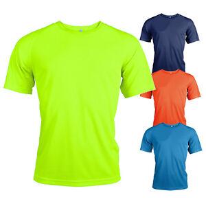 Hi viz quick dry fluorescent breathable short sleeve for Hi viz running shirt