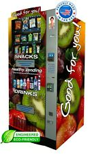 Three Seaga Hy2100 9 Vending Machines And One Hmt900 Side Entre Units