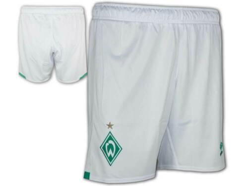 Umbro Werder Bremen Shorts Heim weiß 19//20 Sporthose SVW Home Fan Fußballhose