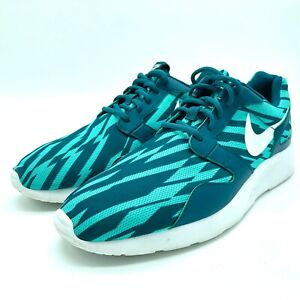 Details about Nike Kaishi Print Teal & White Shoes Men's Size 12 [705450 310] Lightweight Shoe