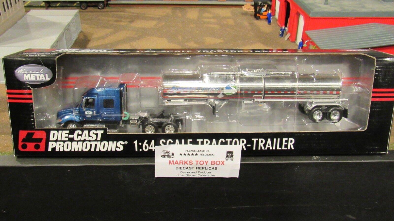 increíbles descuentos DCP 32823 súperior súperior súperior portadores ih ProEstrella Semi Camión & Remolque tanque de productos químicos 1 64 CL  precios bajos todos los dias