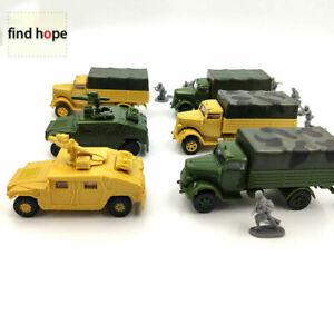 1-72-M1046-KFZ-305-Building-Blocks-Military-Vehicles-Assembling-Model-Army-Truck