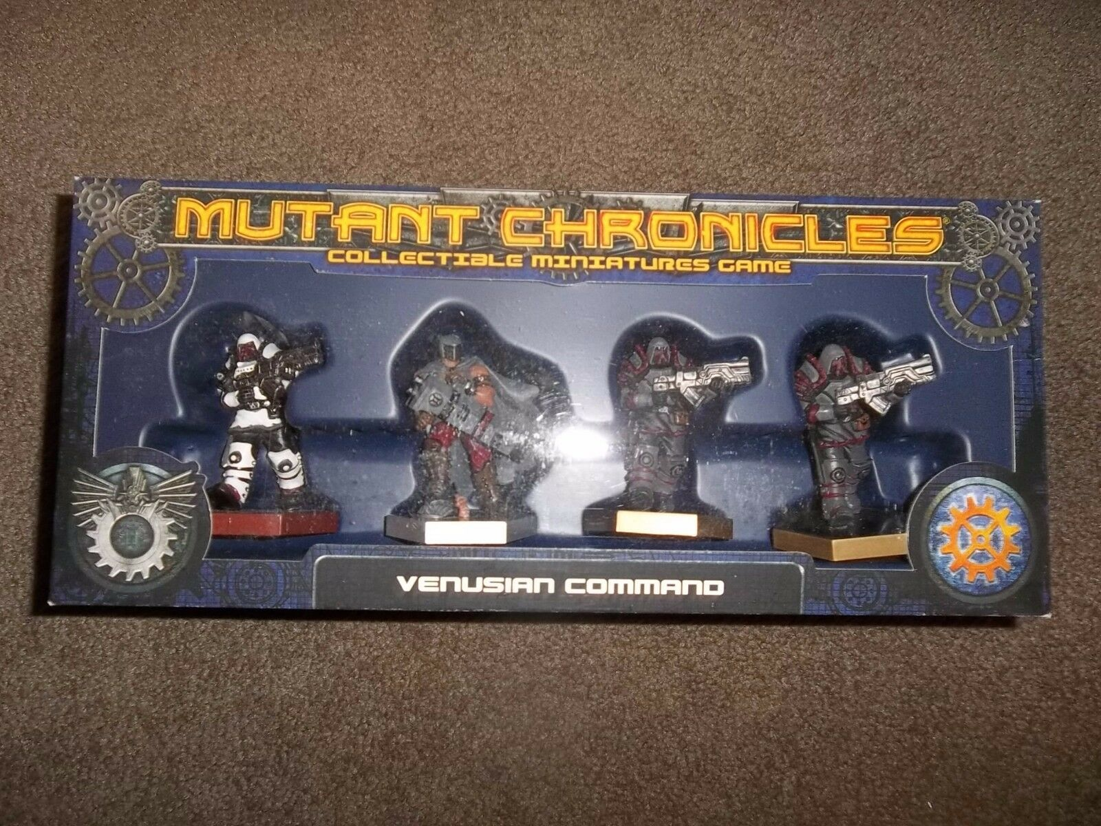 Fantasy Flight Games Mutant Chronicles Venusian Command