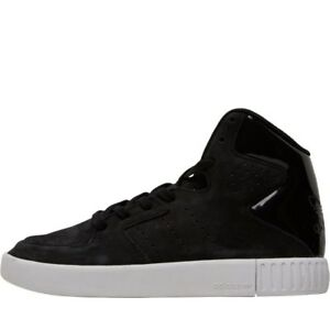 Adidas-tubular-Invader-2-0-Garcons-Baskets-Hi-Top-Black-UK-4-5-EUR-37-3-NEUF