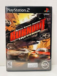 Burnout Revenge EA Battle Racing Ignited Sony PlayStation 2 PS2 NEW Black Label