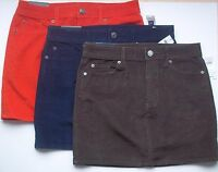 Gap Ladies Fine Wale Corduroy Mini Skirt With Stretch Great Fall Colors