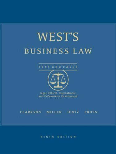 West's Business Law with Online Research Guide by Clarkson, Kenneth W.