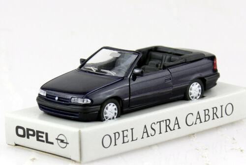 Opel Astra F Cabrio dunkelblau 1:43 GAMA Modellauto