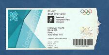 Orig.Ticket   Olympische Spiele LONDON 2012  FUSSBALL  HONDURAS - MAROKKO !! TOP