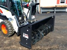 New Bobcat Sb240 Snowblower For Skid Steers 72 Width 2 Stage Hydraulic Chute
