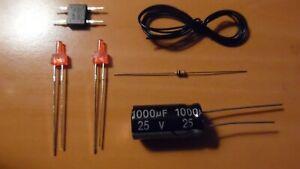 lot-ho-kit-ECLAIRAGE-FIN-DE-CONVOI-led-2mm-canon-long-train-electrique