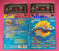 2 mc FESTIVALBAR 99 1999 Compilation blu LAURA PAUSINI MANGO NEK no cd lp dvd