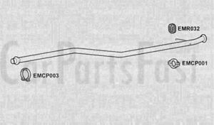 N68 EXHAUST SILENCER CITROËN XSARA PICASSO 2.0 HDi Diesel 1999-12-/>