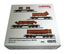 Märklin 48695 Schwerlast-Flachwagen-Set zur BR 193
