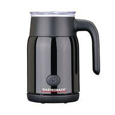 Gastroback 42326 Latte Magic Schwarz Milchaufschäumer-Automat