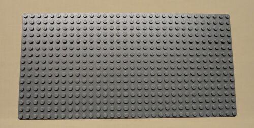x12 NEW Lego Gray Baseplates BRICK BUILDING Base Plates 16 x 32 Dots BLUISH GRAY