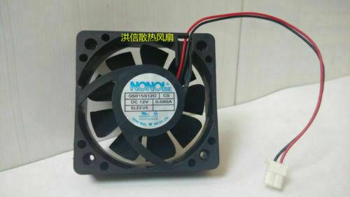 Nonoise Fan G5015s12d Cs Dc 12v 0 080a