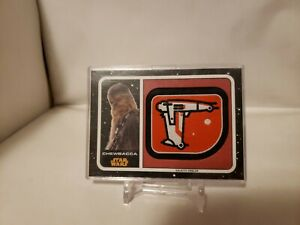 Journey-to-Star-Wars-The-Last-Jedi-Galactic-Emblem-Patch-Card-Chewbacca-MP-CB