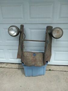 OEM 1940 Chevrolet Truck Grill Shell Radiator support Headlights baffle