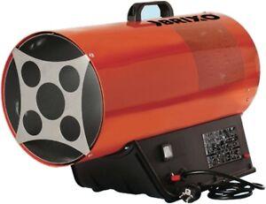 Generatore aria calda a gas Brixo termostato varie potenze