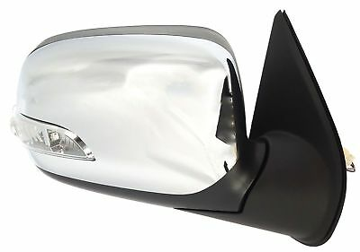 LED INDICATOR CHROME *NEW* DOOR MIRROR for HOLDEN COLORADO RC 2008-2012 RIGHT