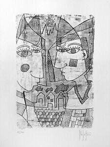Grafica-originale-numerata-di-Stefano-Fiore-no-litografia-picasso