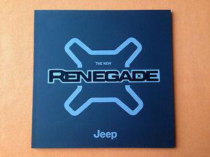 Jeep Renegade Longitude Limited 4x4 brochure sales catalogue January 2015 MINT - Saltburn, North Yorkshire, United Kingdom - Jeep Renegade Longitude Limited 4x4 brochure sales catalogue January 2015 MINT - Saltburn, North Yorkshire, United Kingdom