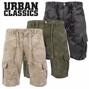 100% Wahr Urban Classics Herren Camo Cargo Shorts Bermuda Kurze Hose Jeans Army Pants Hohe QualitäT Und Preiswert