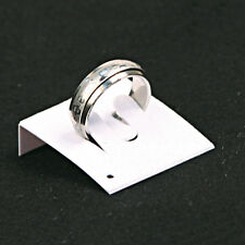 NEW  LOT OF 100 WHITE RING CARDS JEWELRY CARDS COUNTERTOP DISPLAYS CARD INSERT