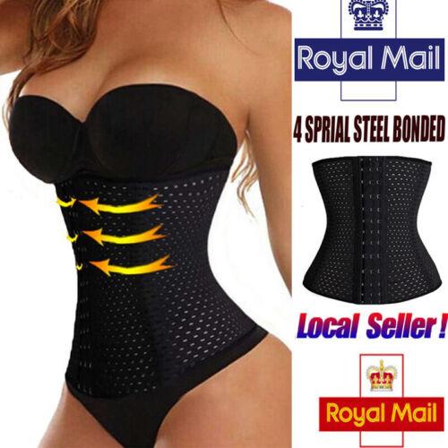 Women Body Shaper Slim Belly Waist Trainer Tummy Belt Cincher Girdle Corset Band