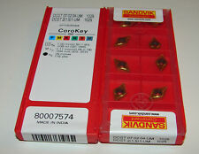 10 Sandvik Vbmt Indexable Turning Inserts Incl 19/% Tax Carbide Inserts