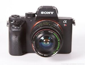 PROMASTER 28mm f/2.8 Manual Focus Wide Lens +Sony E-Mount Adapter a6000 a7 NEX