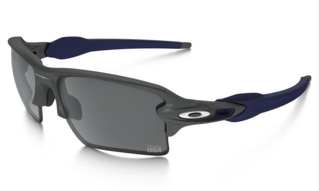 4724108b9a ... where can i buy oakley flak 2.0 xl team usa matte dark grey black iridium  sunglasses