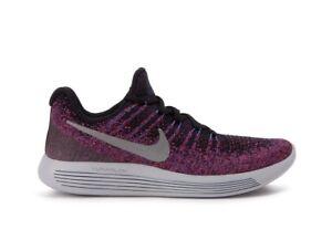 015 Silver Black Flyknit Size 7 863780 5 Nike Low Lunarepic 2 Uk Metallic Wmns g0wxzqnXWC