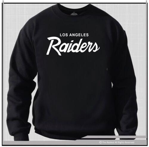 OG Los Angeles Raiders Vintage Logo Crew Neck Sweat Shirt  80/'s Retro Raiders