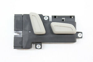 09-AUDI-Q5-FRONT-RIGHT-SEAT-CONTROL-SWITCH-BEIGE-OEM-10-11-12-13-14-15-16-17