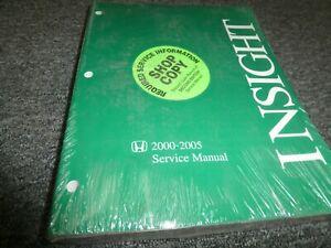research.unir.net 2000-2005 Honda Insight Shop Service Repair ...