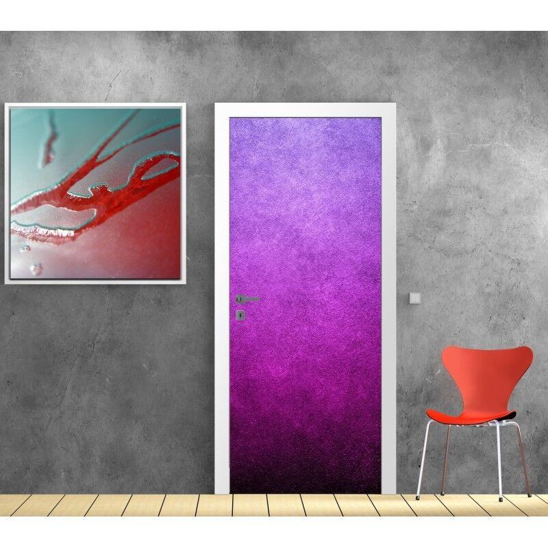 Papier peint porte Design purple 606