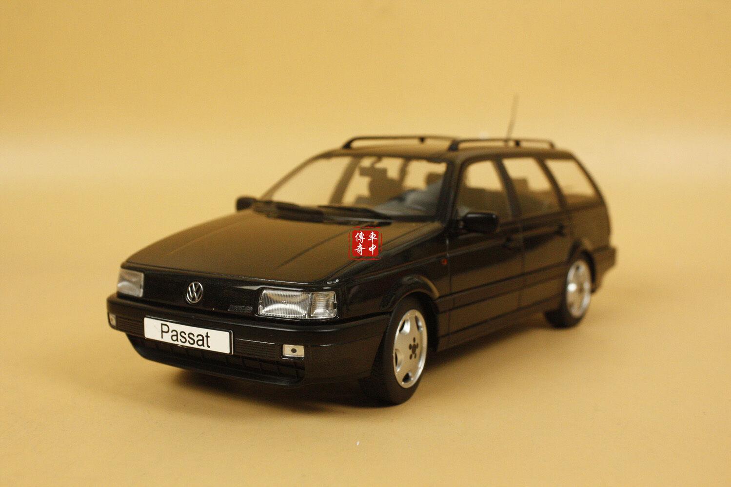 1 18 KK-Scale Volkswagen VW Passat B3 Noir Couleur Résine Modèle