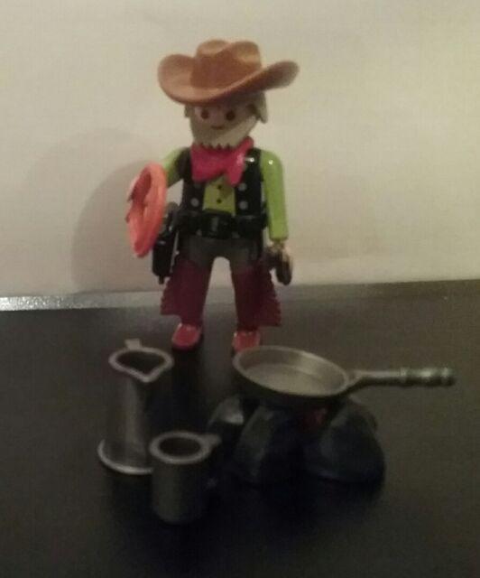 Playmobil Special 4665 Cowboy an Feuerstelle NEU  super rar