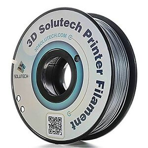 3D Solutech Printer Filament Silver Metal PLA 1.75MM Filament Dimensional Acc...