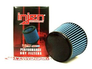 "6.5/"" Base 5/"" Tall INJEN X-1045-BB REPLACEMENT DRY AIR INTAKE FILTER 5/"" Dia"