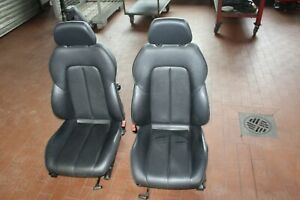 Mercedes SLK R 170, Sitze Fahrer und Beifahrer  Leder schwarz