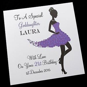 Image Is Loading Personalised Handmade Birthday Card Sister Granddaughter Niece 13th