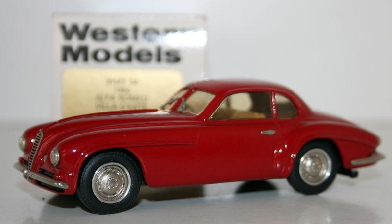 WESTERN ModelllS 1 43 WMS54 - 1950 ALFA ROMEO VILLA D'ESTE COUPE - rot