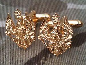 Kings-Royal-Hussars-REGIMENTAL-MILITARY-CUFF-LINKS-Cufflinks